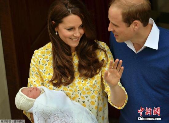 托福阅读素材:英国公主被命名为Charlotte