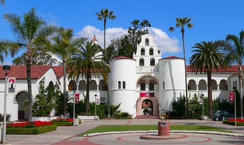 美国圣地亚哥大学对本科/研究生/MBA托福成绩要求