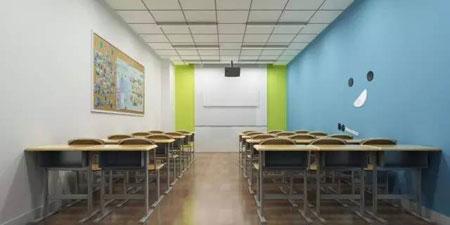 青岛新东方新都心校区教室设施